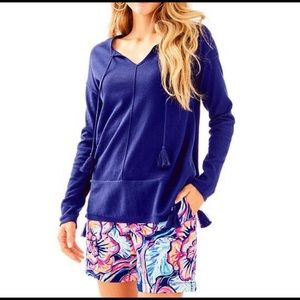 Lilly Pulitzer Colene Sweater True Navy
